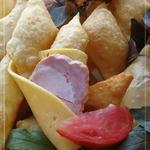 Итальянские соленые пончики Ньокко фритто