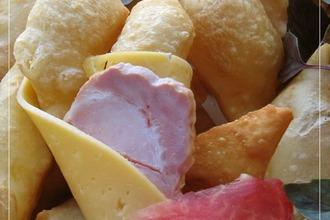 Рецепт: Итальянские соленые пончики Ньокко фритто