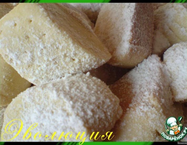 Рецепт: Мучное печенье