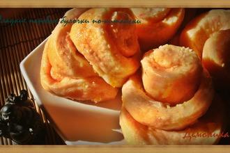 Рецепт: Сладкие паровые булочки по-китайски