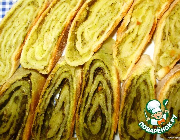 Рецепт: Пирог «Кол-бюрей»
