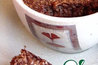Рецепт: Шоколадное суфле с кокосом