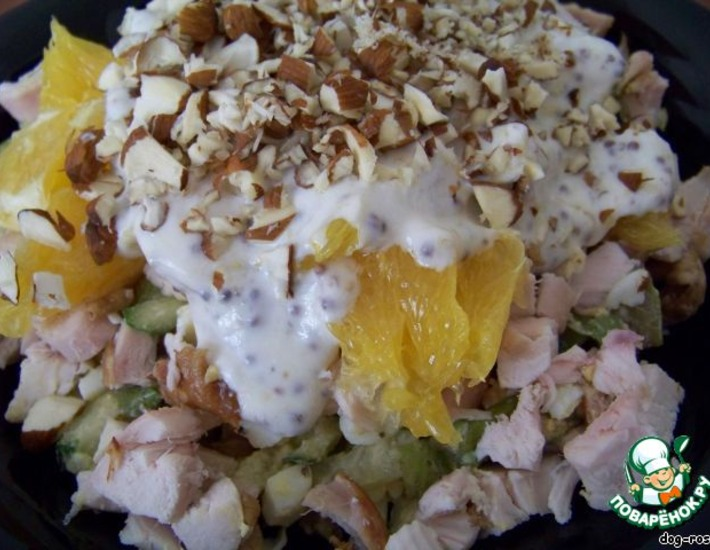 Рецепт: Салат Марокко