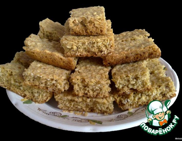 Рецепт: Печенье из геркулеса