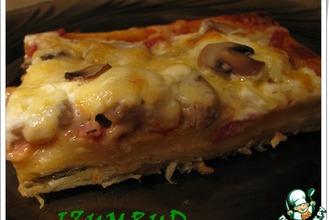 Рецепт: Пицца с двойным дном