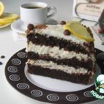 Творожный торт Кофе с лимоном