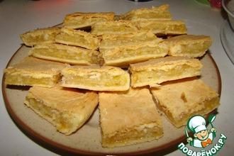 Рецепт: Лимонный пирог №2