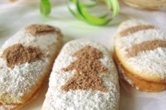 Рецепт: Бисквитное печенье Дамские пальчики