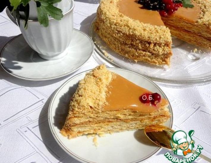 Рецепт: Торт Ностальгия