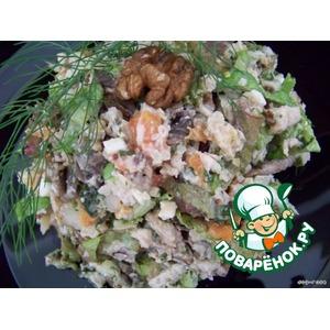 Салат Зеленый гребень