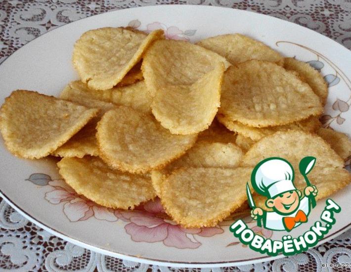 Рецепт: Печенье Ванильные лепестки