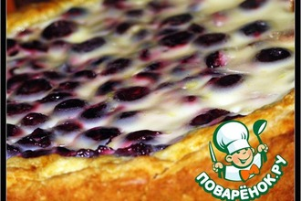Рецепт: Пирог вишневый