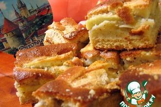Рецепт: Эстонский пирог Яблочные пирожные