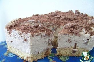 Рецепт: Торт «Кофейная пушинка»