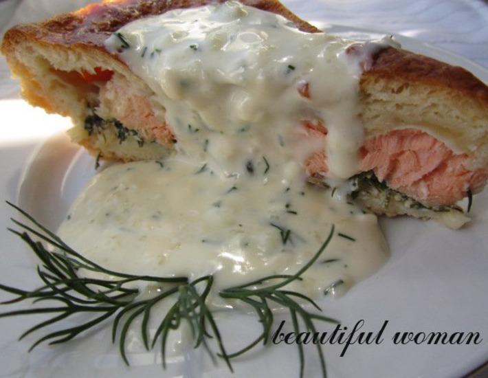 Рецепт: Рыбный пирог