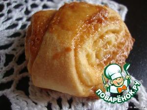 Рецепт Вкуснейшие булочки с карамелью