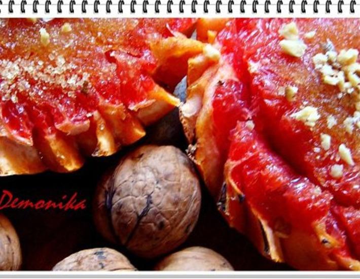 Рецепт: Запечeнный грейпфрут