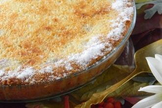 Рецепт: Виноградный пирог-суфле