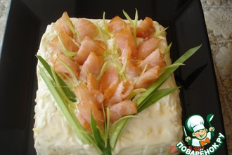 Рецепт: Салат Рыбный за 15 минут