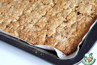 Рецепт: Печенье с черносливом и грецкими орехами