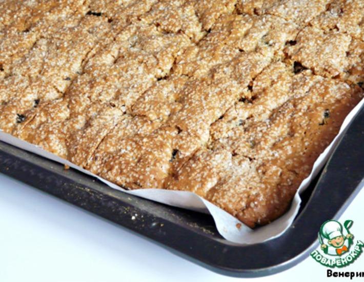 рецепт из чернослива со сметаной и печеньем