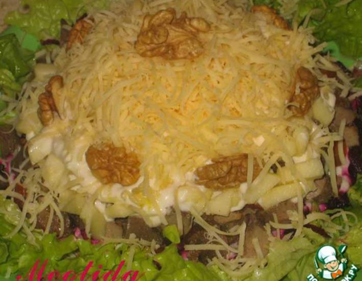 Рецепт: Салат Вечер декабря