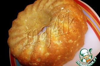 Рецепт: Сырный кекс-пирог Быстро и вкусно
