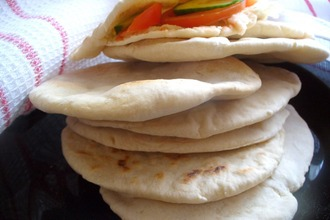 Рецепт: Арабский хлеб Пита