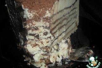 Рецепт: Мильфей Крокканте семифреддо с кофе и шоколадом