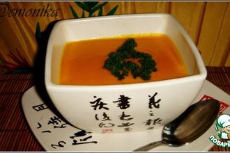 Рецепт: Японский морковный суп-пюре