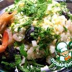 Салат рисовый по-итальянски