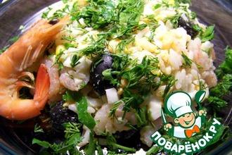 Рецепт: Салат рисовый по-итальянски