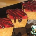 Пирожное творожно-карамельное