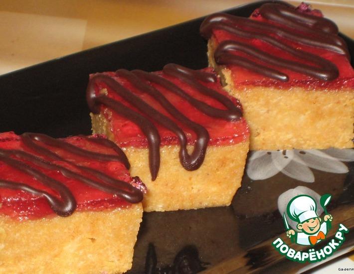 Рецепт: Пирожное творожно-карамельное
