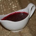 Паннакота с вишневым соусом