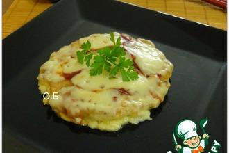 Рецепт: Окономи-яки-японская пицца