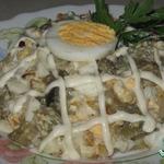 Салат из баклажанов Интересный