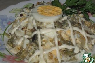 Рецепт: Салат из баклажанов Интересный