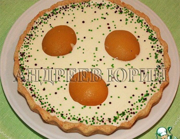 Рецепт: Сладкий пирог Яичница