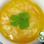 Куриный суп Рыжик с жареной вермишелью
