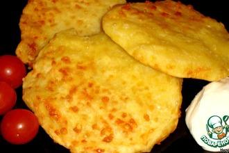 Рецепт: Кукурузные лепешки с сыром