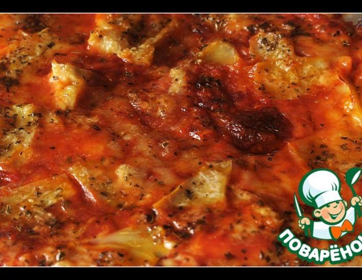 """Пицца """"4 сезона"""" – кулинарный рецепт"""