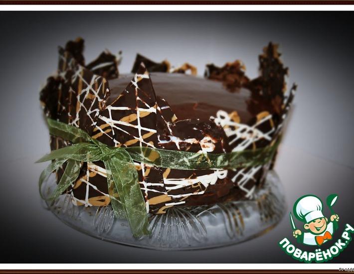 Рецепт: Свадебный Шоколадный Торт