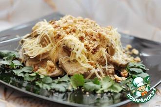 Рецепт: Тeплый салат с языком Оратор
