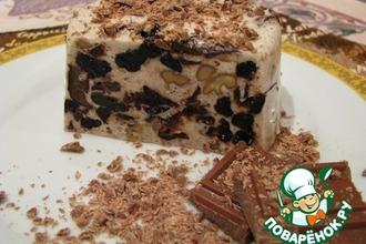 Рецепт: Десерт из чернослива и ореха