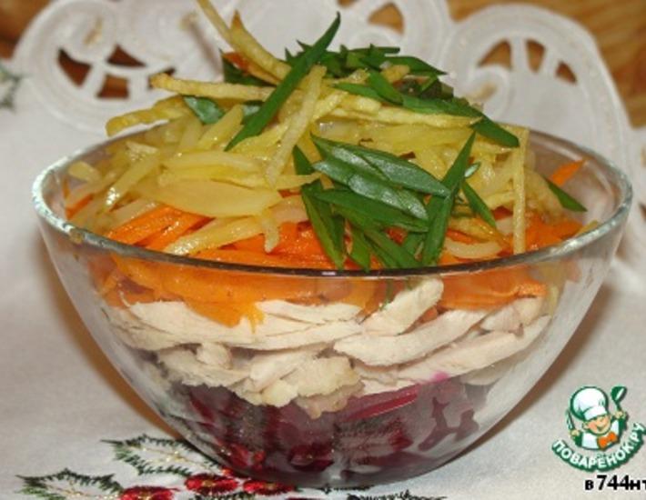 Рецепт: Салат От Насти