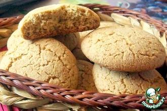 Рецепт: Печенье из овсяной муки