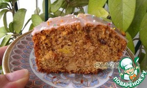 Кабачковый кекс – кулинарный рецепт