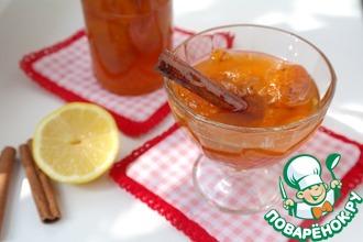 Рецепт: Варенье из абрикосов с лимоном и корицей