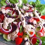 Традиционный грузинский салат